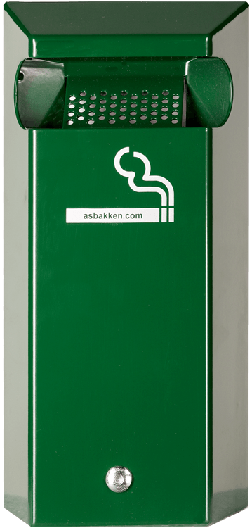 rvs wandasbak groen